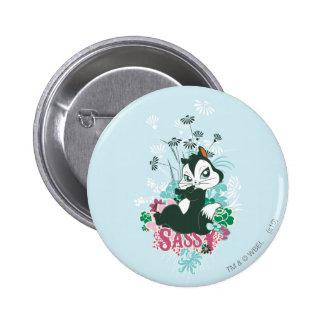 Pussyfoot Sassy 6 Cm Round Badge