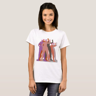 Pussyhat women stand together T-Shirt