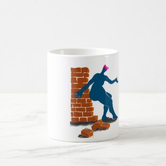 Pussyhats against walls coffee mug