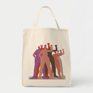Pussyhats Stand Together tote