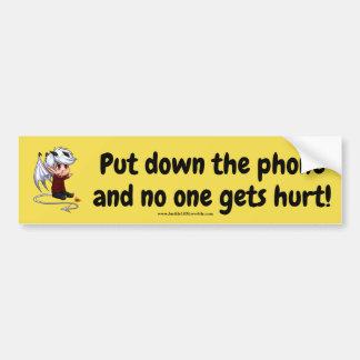 Put Down the Phone... Bumper Sticker
