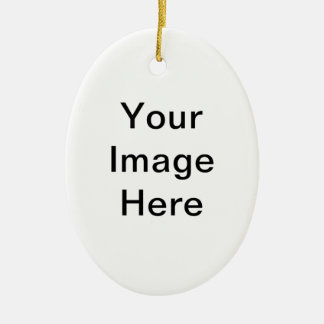 Put Image Text Logo Here Create Make My Own Design Ceramic Oval Decoration
