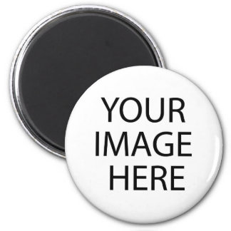 Put Image Text Logo Here Create Make My Own Design 6 Cm Round Magnet