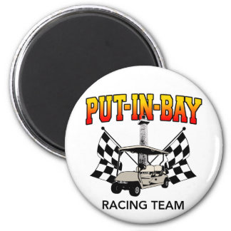 Put-In-Bay Racing Team Magnet