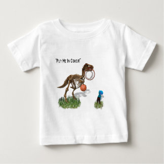 """Put me in Coach""  Baby T-Shirt"