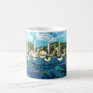 Put n Bay Lake Erie Island Painting #1 Coffee Mug