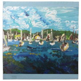 Put-n-Bay Lake Erie Island Painting #1 Napkin