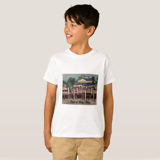 Put-n-Bay Marina, Ohio Kids T-Shirt