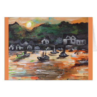 Put-n-Bay Painting #3 Card