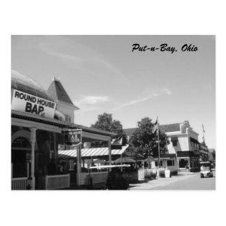 Put-n-Bay Round House photo Postcard