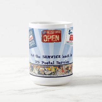 Put Service back in USPS Classic White Coffee Mug