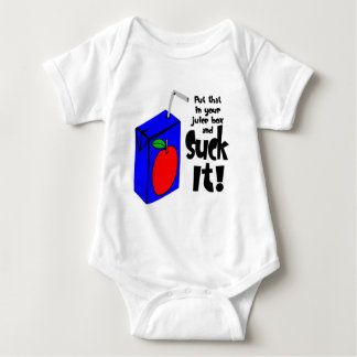 Put That In Your Juice Box And Suck It Baby Bodysuit