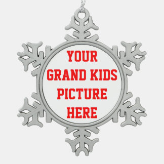 PUT THE GRANDKIDS PICTURE  ON AN ORNAMENT