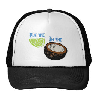 Put the lime in the Coconut! Cap