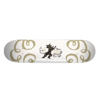 Put Up Your Paws 21.3 Cm Mini Skateboard Deck