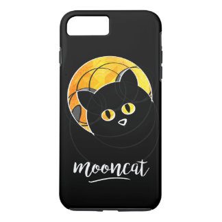 Put with has cat in face off the yellow moon iPhone 8 plus/7 plus case