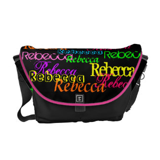 Put Your Name All Over this Colorful Messenger Bag