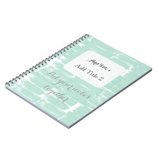 Put Your Notes Together Watercolor Mint Notebook