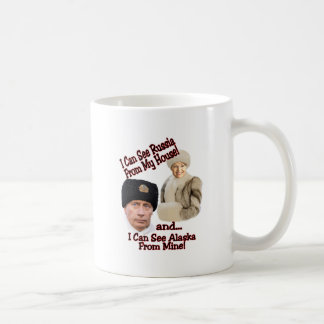 Putin and Palin Coffee Mug