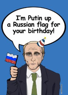 Russian Birthday Cards