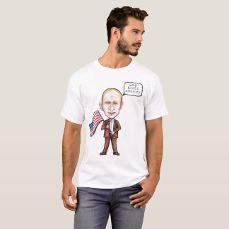 Putin God Bless America T-Shirt