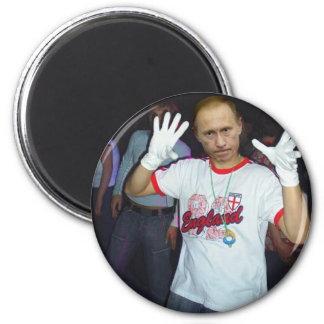 Putin Parties Magnet