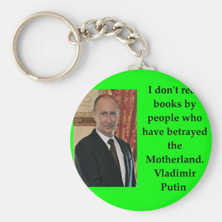 putin quote basic round button key ring