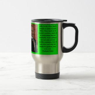 putin quote travel mug