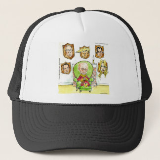 Putin The Hunter Gets Not My President Trump Trucker Hat