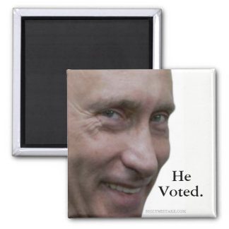Putin Voted Magnet