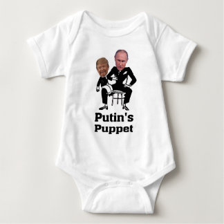 putin's puppet 11 baby bodysuit