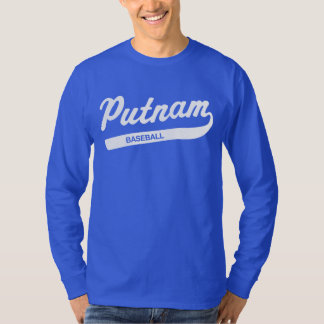 Putnam Baseball Long-sleeved T T-Shirt
