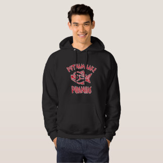 Putnam Lake Piranhas Black Sweatshirt Mens