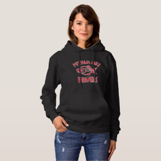 Putnam Lake Piranhas Black Sweatshirt Womens