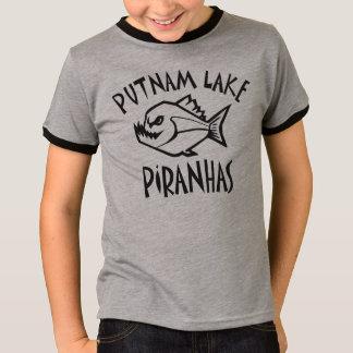 Putnam Lake Piranhas Ringer Tee