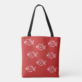 Putnam Lake Piranhas Tote Bag
