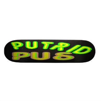 putrid pus skateboards