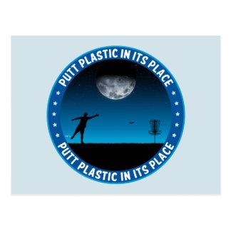 Putt Plastic In Its Place #8 Postcard