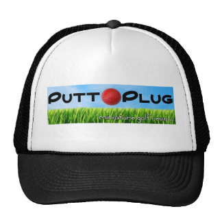 Putt Plug hat