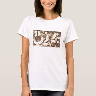 Putte Mit Spruchband Mit Alphabet T-shirt