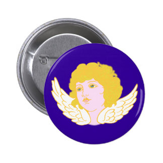 Putte putto angel fishing rod pins