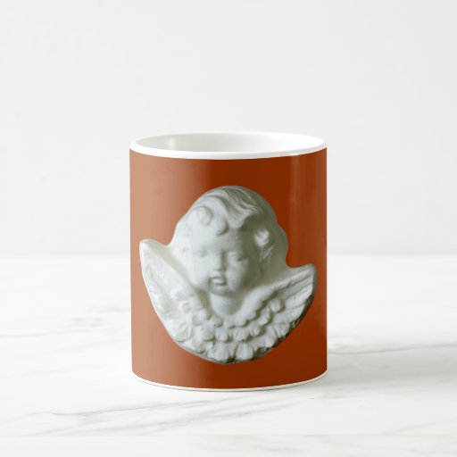 Putte putto angel fishing rod mugs