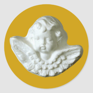 Putte putto angel fishing rod stickers