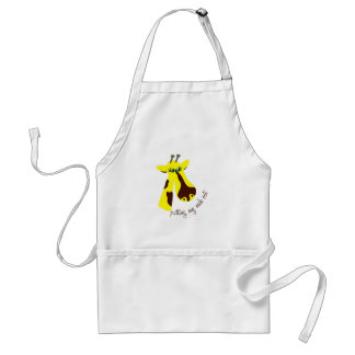Putting My Neck Out Apron