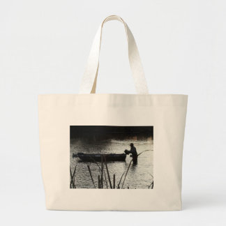 Putting Out the Ducks Tote Bag