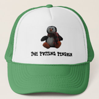 Putting Penguin Trucker Hat