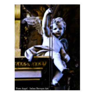 Putto Angel Postcard