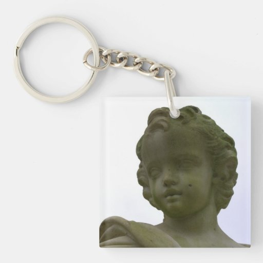 Putto Square Acrylic Keychain