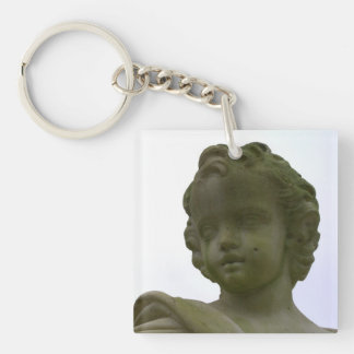 Putto Single-Sided Square Acrylic Key Ring