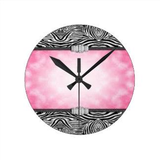 Puurfect girl's room clock..... wallclock